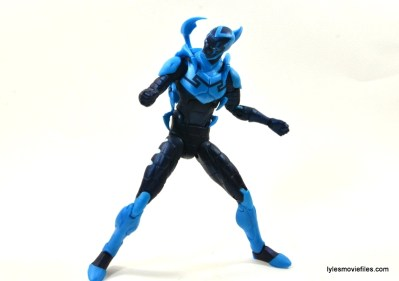 DC Icons Blue Beetle figure review -twisting