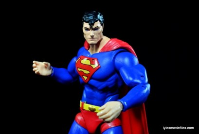 DC Icons Superman figure review -action ready