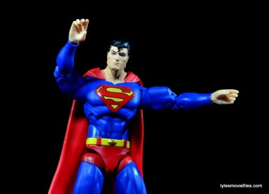 DC Icons Superman figure review -alternate hands
