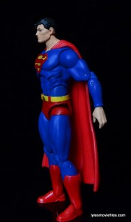 DC Icons Superman figure review -left side