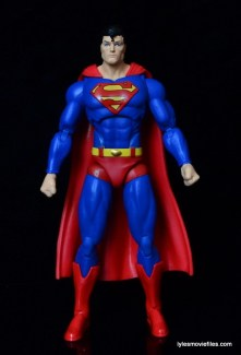 DC Icons Superman figure review -straight ahead