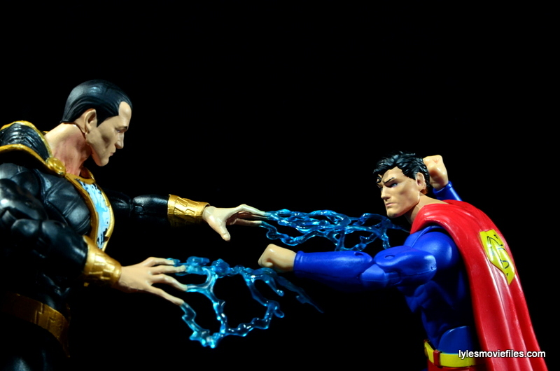 DC Icons Superman figure review - vs Black Adam