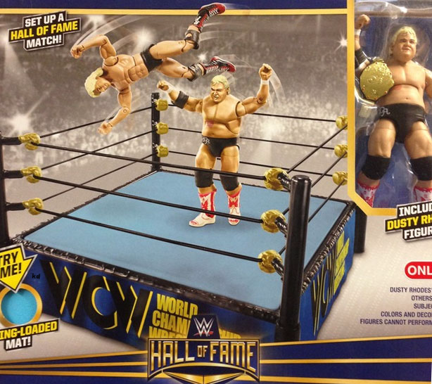 NWA Dusty Rhodes figure