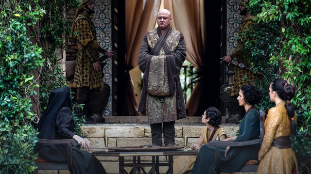 Game of Thrones The Winds of Winter - Olenna Tyrell, Varys and Sand Snakes