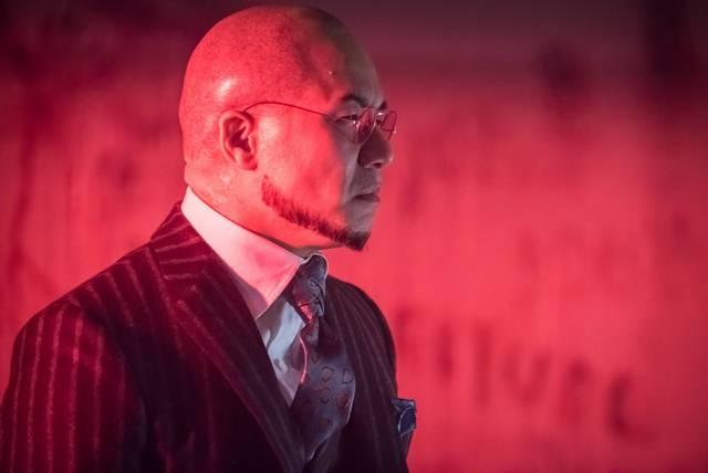 Gotham Azrael review - Dr Hugo Strange