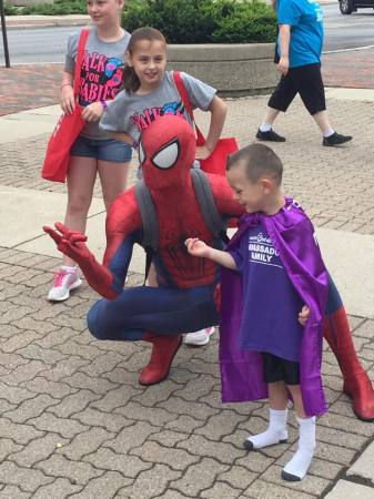 Heroes for Hope - Spider-Man and new friend