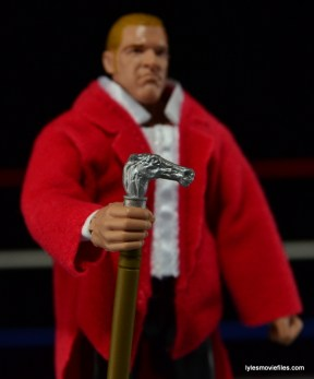 Hunter Hearst Helmsley WWE Network Spotlight figure -cane detail