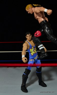 Hunter Hearst Helmsley WWE Network Spotlight figure -high knee to 123 Kid