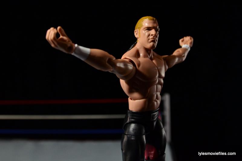 Hunter Hearst Helmsley WWE Network Spotlight figure -on turnbuckle