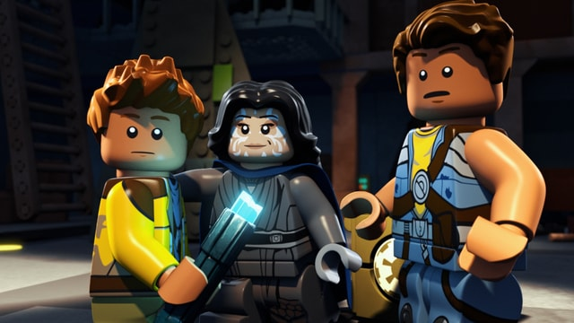 LEGO Star Wars - The Freemaker Adventures - Rowan, Jedi and Zander-min