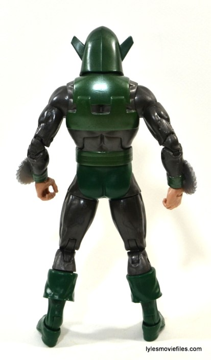 Marvel Legends Whirlwind figure review -back