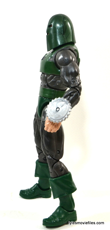 Marvel Legends Whirlwind figure review -left side