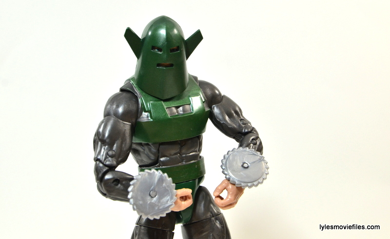 Marvel Legends Whirlwind figure review -main pose