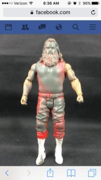Mattel WWE prototype - Braun Strowman