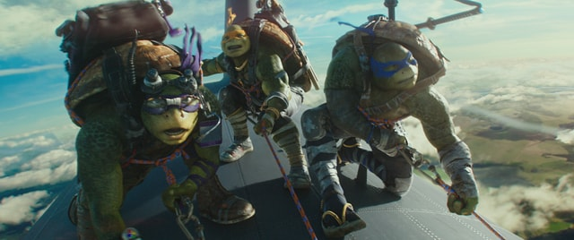 Teenage Mutant Ninja Turtles Out of the Shadows - Donatello, Mikey and Leo-min