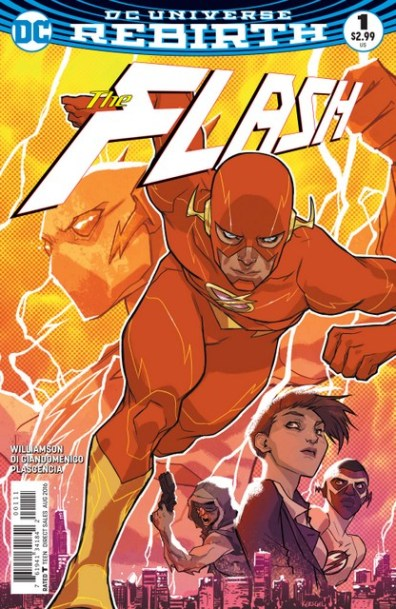 The Flash review issue 1 cover