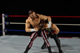 WWE Elite 41 Terry Funk figure review -headlock punching