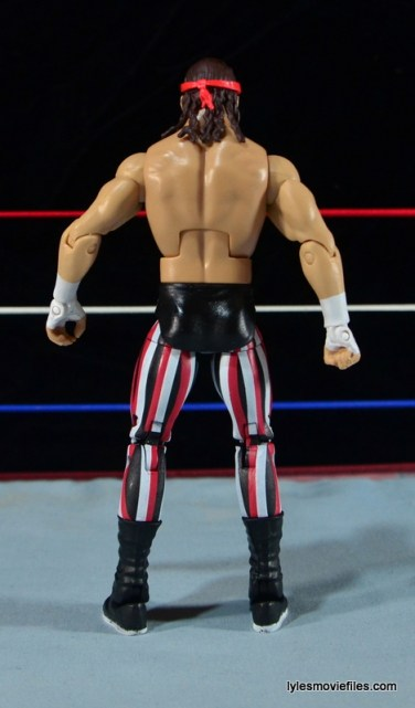 WWE Elite 41 Terry Funk figure review -rear shot