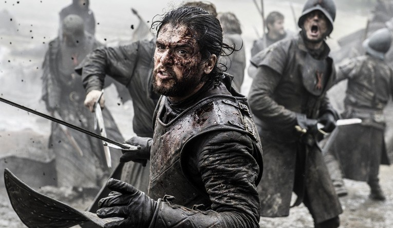 game of thrones battle of the bastards - jon snow