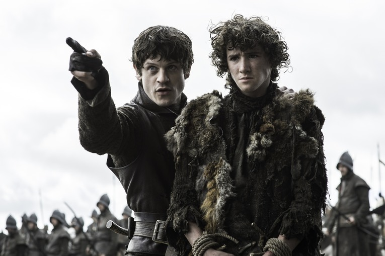 game of thrones battle of the bastards - ramsay and rickon