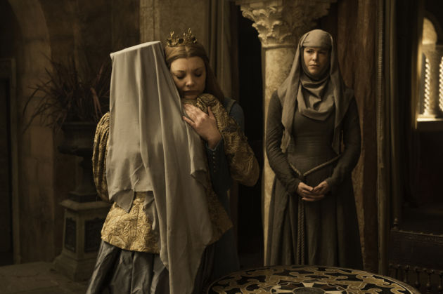 game of thrones the broken man-queen of thornes and maergery