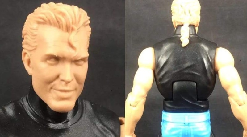 WWE Elite nWo Scott Hall prototype