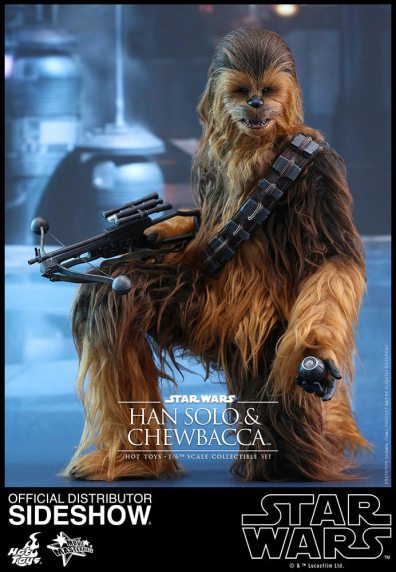 star-wars-the-force-awakens-han-and-chewbacca-sixth-scale-set-hot-toys-chewbacca planting detonators