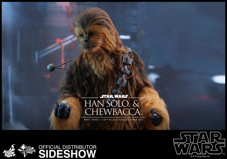 star-wars-the-force-awakens-han-and-chewbacca-sixth-scale-set-hot-toys-chewbacca with detonators