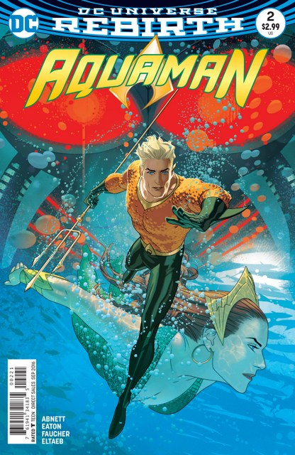 Aquaman issue 2 review The Drowning -variant cover