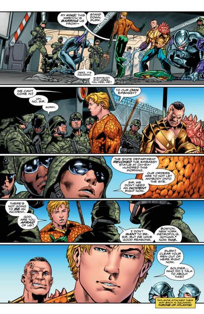 Aquaman issue 3 pg 5