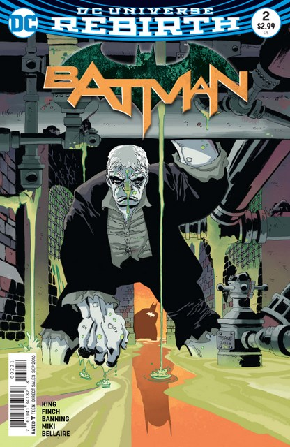 Batman issue 2 I am Gotham review - Tim Sale variant cover
