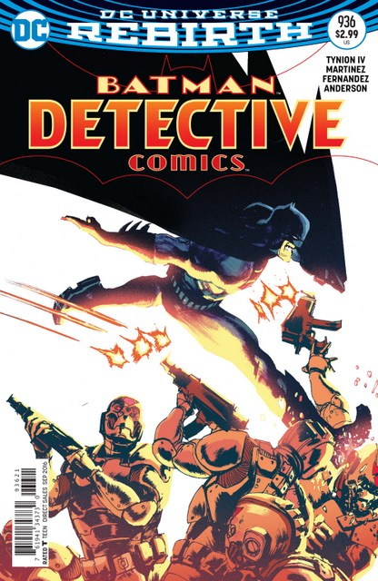 Detective Comics issue 936 review - variant cover