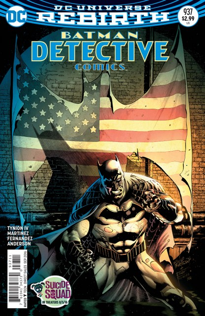 Detective Comics issue 937 cover