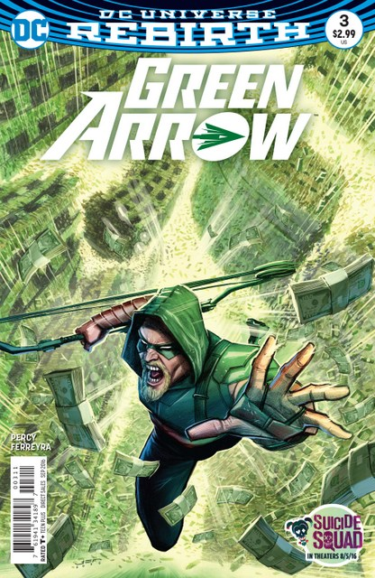 Green Arrow issue 3 cover