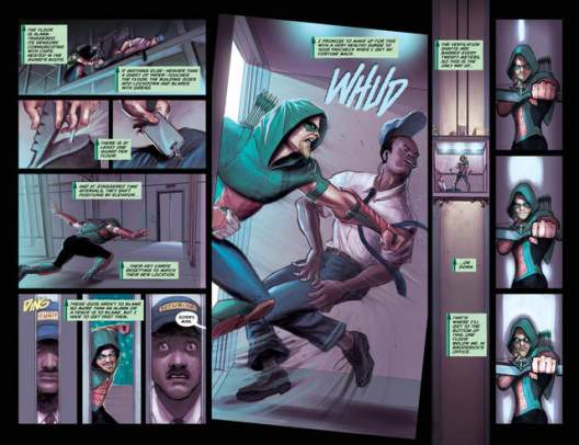 Green Arrow issue 3 page_4-5