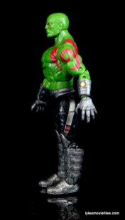 Guardians of the Galaxy Marvel Legends exclusive -Drax left side