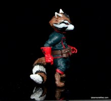 Guardians of the Galaxy Marvel Legends exclusive -Rocket right side
