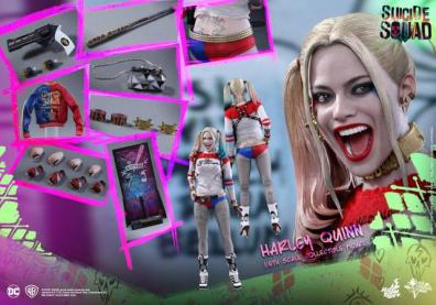 Hot Toys Harley Quinn Suicide Squad figure -collage