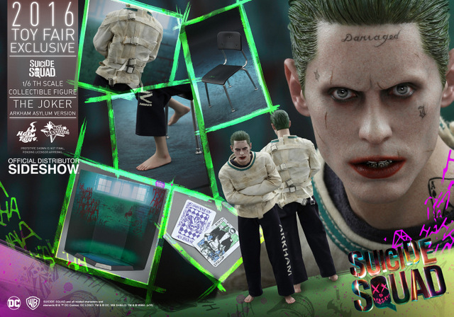 Hot Toys The Joker Arkham Asylum version -collage