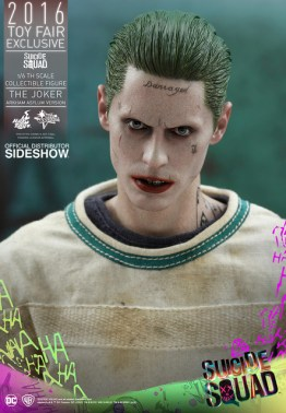 Hot Toys The Joker Arkham Asylum version -head close up