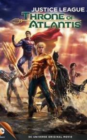 Justice League Throne of Atlantis movie poster