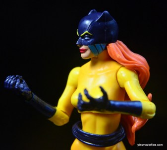 Marvel Legends Hellcat figure review -mask detail