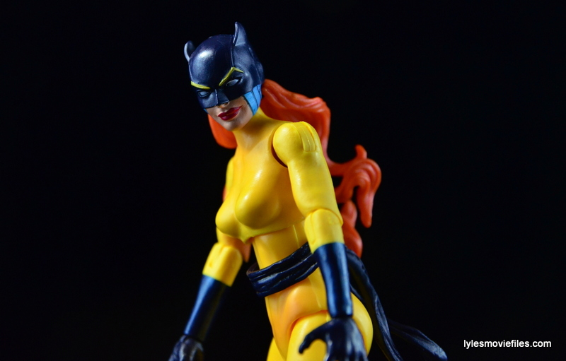 Marvel Legends Hellcat figure review -side shot