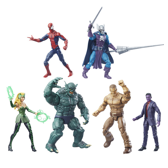 Marvel The Raft Legends SDCC Collection