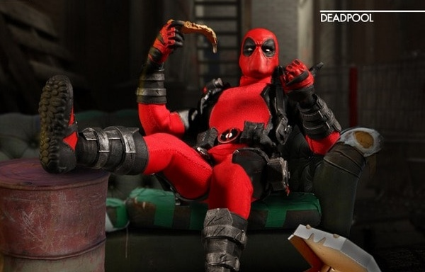 Mezco Toyz Deadpool one twelve figure-banner