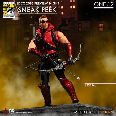 Mezco Toyz One 12 SDCC preview Arsenal