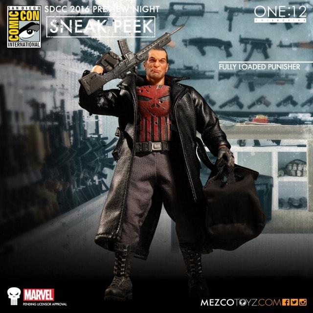 Mezco Toyz The Punisher one twelve figure-min