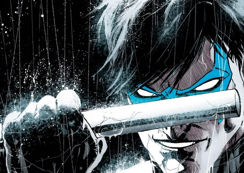 Nightwing Rebirth issue 1 cover