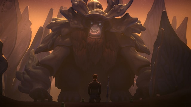 Star Wars Rebels Season 3 - Bendu-min