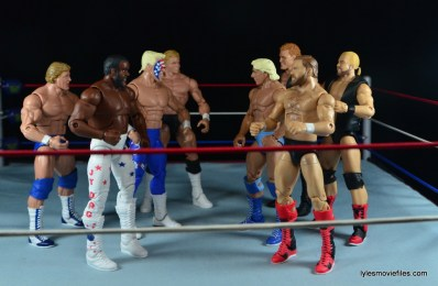 Sting Defining Moments figure review - Dudes With Attitude vs Four Horsemen